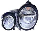 Depo 340-1118PXAS Mercedes Benz E Class Chrome Headlight Assembly Projector