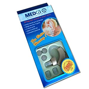 Behind the Ear Sound Amplifier Super Mini Size Sound Enhancer from Medca