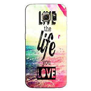 LOVE UR LIFE BACK COVER FOR SAMSUNG GALAXY S7