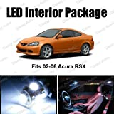 Acura RSX White Interior LED Package (6 Pieces)