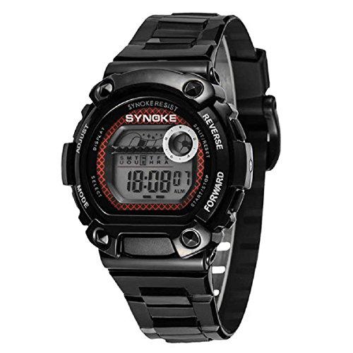 Aokdis (Tm) Hot Selling Fashion Analog Digital Men Women Kids Sports Stopwatch Wrist Watch
