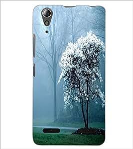 PrintDhaba Scenary D-2325 Back Case Cover for LENOVO A6000 PLUS (Multi-Coloured)