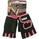 TKO Universal Workout Gloves Black/Pink Small