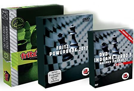 Fritz 13 Turbocharged: Chess Playing and Analysis Program, Powerbook 2012 and Endgame Turbo 3!