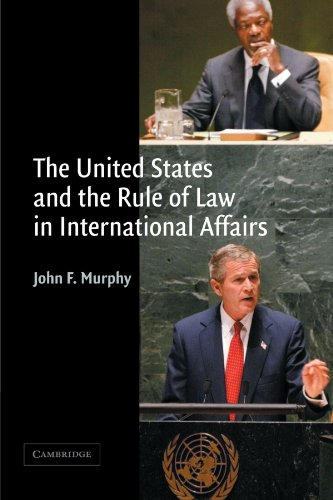The United States and the Rule of Law in International Affairs Paperback