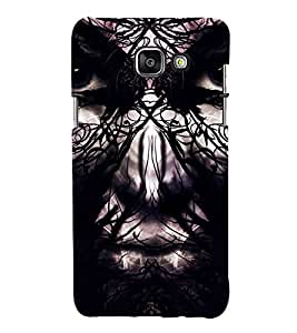 Devil girl Back Case Cover for Samsung Galaxy A7(2016)