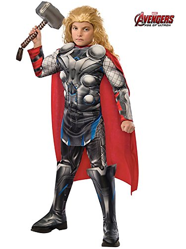 Rubie's Costume Avengers 2 Age of Ultron Child's Deluxe Thor Costume