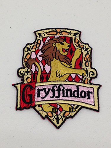 Harry Potter GRYFFINDOR Embroidered Chest Logo PATCH by Main Street 24/7