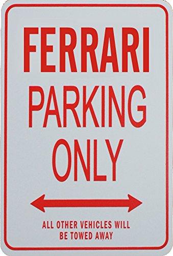 ferrari-parking-only-sign