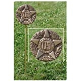 US Military Veteran Grave Marker - in Cast Bronze