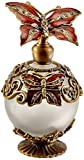 StealStreet SS-A-51617 Butterfly Crystal Jewel Fragrance Perfume Bottle