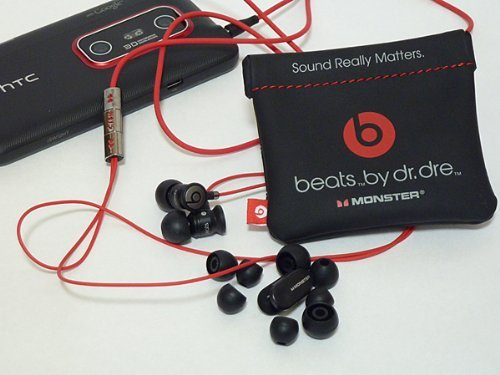 HTC Sensation XE with MONSTER Beats by dr,dre Audio 付属イヤホン (ブラック)