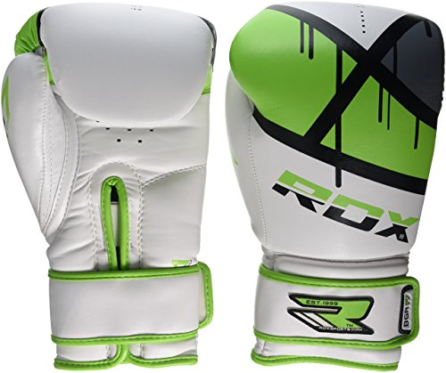 RDX Erwachsene Training Boxhandschuhe, Grün, 10 oz, 5054421051801
