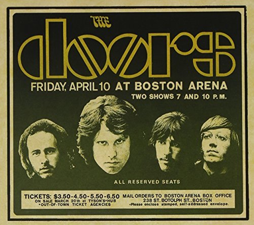 Doors - Live In Boston 1970 - Zortam Music