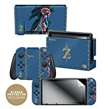 Controller Gear Nintendo Switch Skin & Skin Protector Set Officially Licensed by Nintendo - The Legend of Zelda: Breath of the Wild: