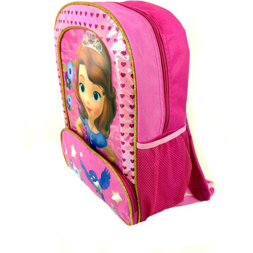 "Sofia the First 3D 16"" backpack"
