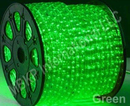 Green Led Rope Lights Auto Home Christmas Lighting 5 Meters(16.4 Feet)