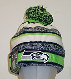Seattle Seahawks Official NFL 2014 On Field Sport Knit Cap Winter Hat / Toque by N/A