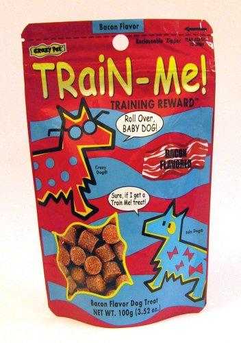 Crazy Dog Train-Me! Training Treats Bacon