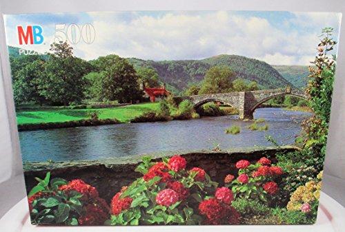 1993 Croxley 500 Piece Puzzle - Inigo Jones' Bridge, North Wales - 1