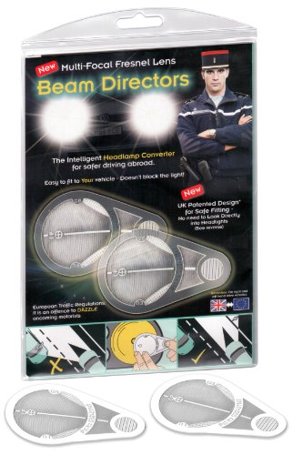 Headlamp Deflectors for driving in france