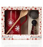 Log Cabin Mulled Wine Set [T40-9578G-S]