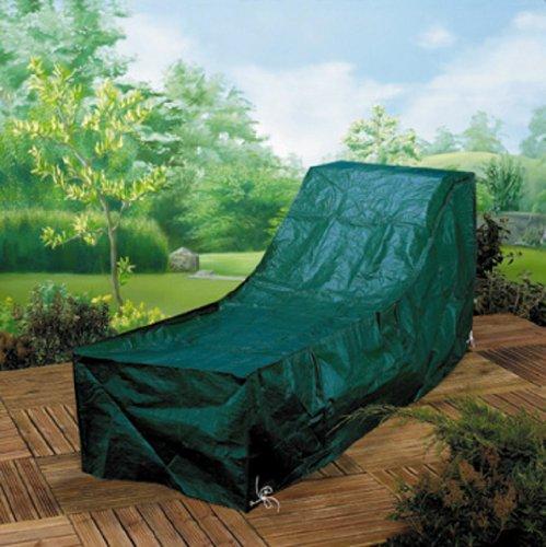 Gardman Sunbed Lounger Waterproof Green Garden Protection Furniture Cover