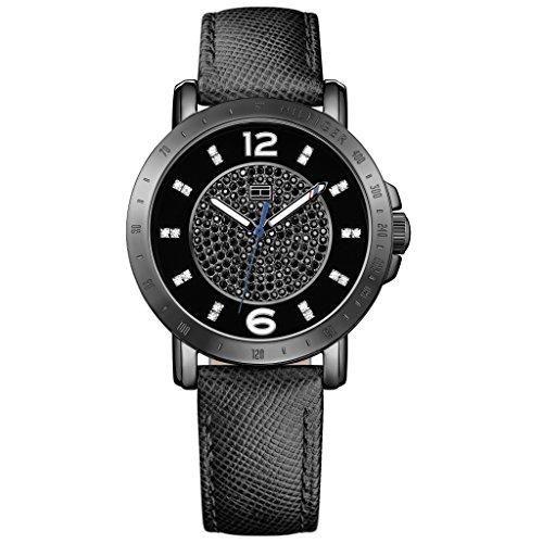 Tommy-Hilfiger-Damen-Armbanduhr-Analog-Quarz-Leder-1781624