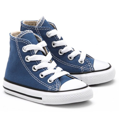 UNISEX Toddlers Infant Converse Navy Blue All Star Hi Top Chuck Taylor Trainer 5 6 7 8 9 10