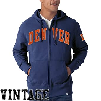 NFL Denver Broncos Mens Striker Full Zip Jacket by