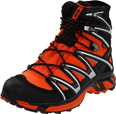 Salomon Men's Wings Sky GTX 2 Hiking Boot,Fall Orange/Black/Asphault,9.5 M US