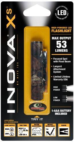 Nite Ize Xsdma-Hmo Inova Xs Aaa Powered Led Flashlight, Mossy Oak