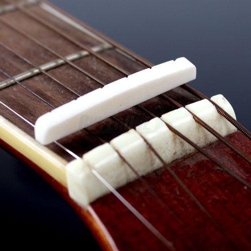 Buffalo Bone Bridge Nut For 6 String Bass Electric Guitar Hot
