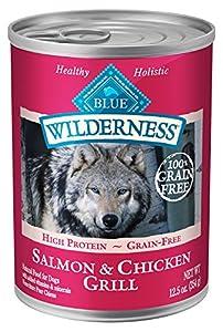 Wilderness Salmon Dinner Grain Free Wet Dog Food, (Pack of 12, 12.5oz.)