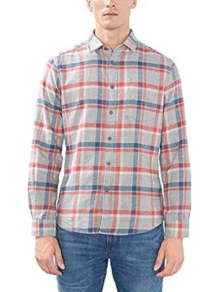 ESPRIT Camisa Hombre (Gris)
