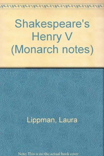 Shakespeare's Henry V (Monarch notes)