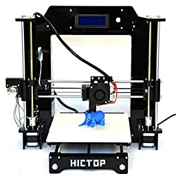 HICTOP Prusa I3 3D Desktop Printer, DIY High Accuracy CNC Self-Assembly Tridimensional
