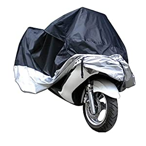 docooler Motorcycle Bike Moped Scooter Cover Waterproof Rain UV Dust Prevention Dustproof Covering
