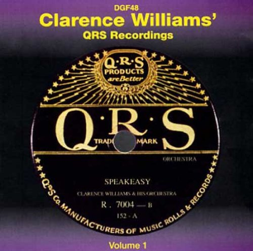 QRS Recordings Volume 1 by Clarence Williams