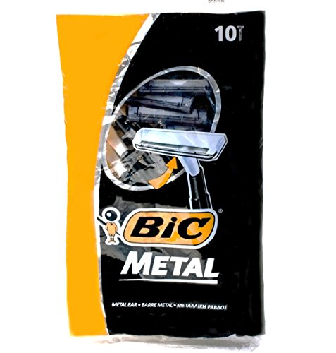 Bic-Metal-Quality-Disposable-Mens-Shaving-Razors-Best-Single-Blade-10-count