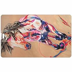 Animal Credit Card 8GB Pen Drive