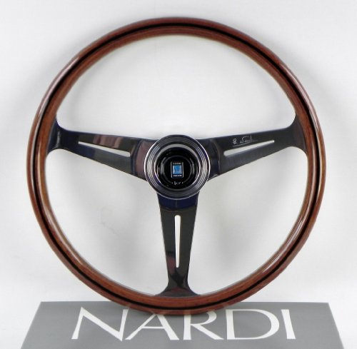 nardi steering wheel classic 390 mm 15 35 inches wood with