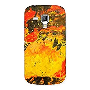 Delighted Modern Art Paint Print Back Case Cover for Galaxy S Duos