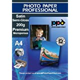 A4 Inkjet Photo Premium Glossy Paper - 200gsm X 100 Sheetsby Photo Paper Direct