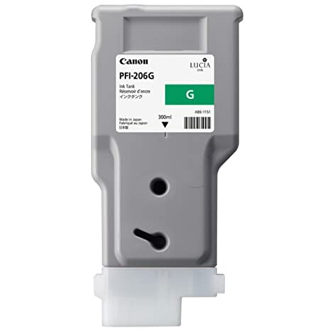 Canon Imageprograf IPF 6400 S (PFI-206 G / 5310 B 001) - original - Ink cartridge green - 300ml
