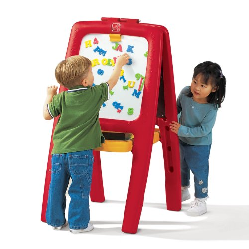 Step2  Easel For Two with Bonus Magnetic Letters/Numbers (Kids Board compare prices)