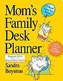 Mom's Family 17-Month Desk Planner