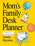 Mom's Family 17-Month Desk Planner