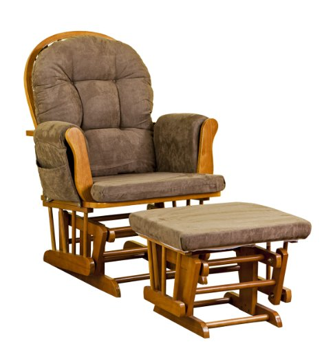 Baby Glider And Ottoman front-115869