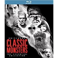 Universal Classic Monsters on Blu-ray